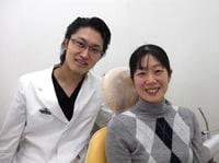歯医者と患者さん